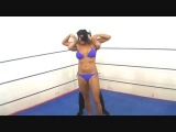 Female Wrestling Mask vs Mask
